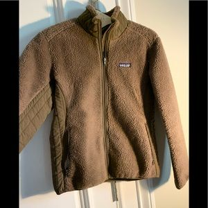 Women's Patagonia Retro X pile Jacket-brown
